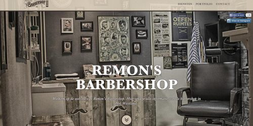 Website Remon's Kappers & Barbier
