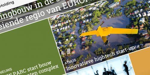 Website Emaxus Holding B.V.
