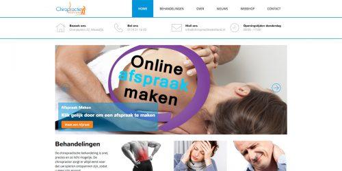 Website Chiropractie Westland