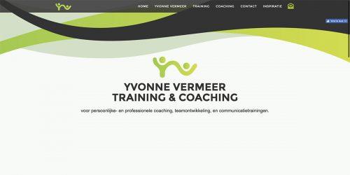 Website Yvonne Vermeer